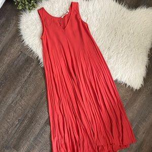 Soft Surroundings La Paz coral maxi dress